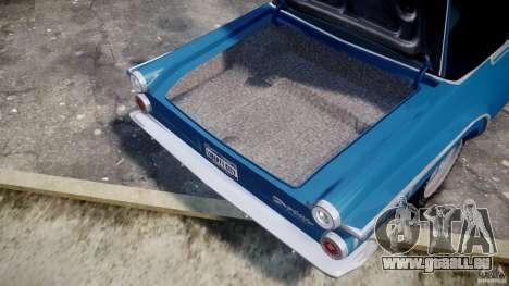Dodge Dart 440 1962 für GTA 4 Seitenansicht
