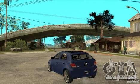 Volkswagen Gol Trend 1.6 für GTA San Andreas zurück linke Ansicht