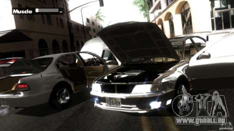Nissan Cefiro A32 Kouki für GTA San Andreas Innen