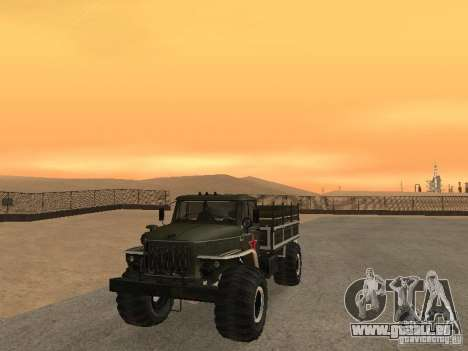 Ural Parade 43206 pour GTA San Andreas