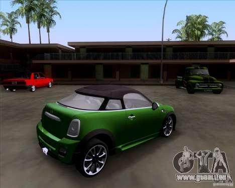 Mini Cooper Concept v1 2010 für GTA San Andreas linke Ansicht