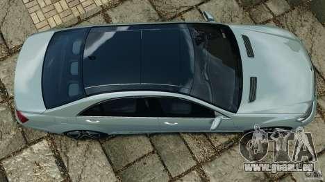 Mercedes-Benz S65 AMG 2012 v1.0 pour GTA 4 Vue arrière