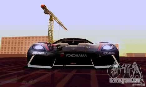 Koenigsegg Agera R pour GTA San Andreas vue de côté