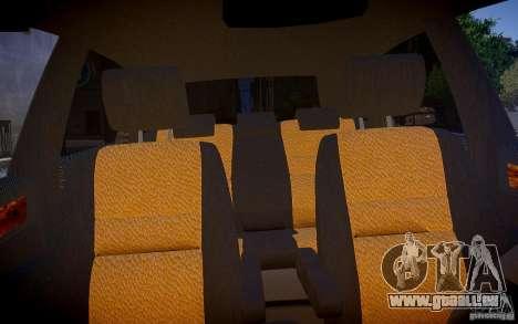 Honda CR-V Light Tuning pour GTA 4 est une vue de l'intérieur