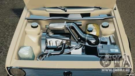 Volkswagen Golf Mk1 Stance für GTA 4 obere Ansicht