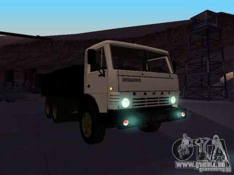 KAMAZ 53212 ouvert pour GTA San Andreas vue arrière