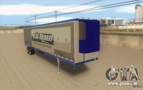 Remorque pour camion Optimus Prime pour GTA San Andreas