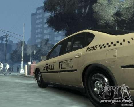Chevrolet Impala 2003 Taxi pour GTA 4 vue de dessus