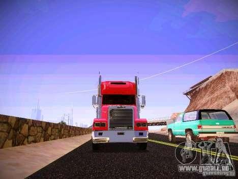 Freightliner FLD 120 für GTA San Andreas Innenansicht