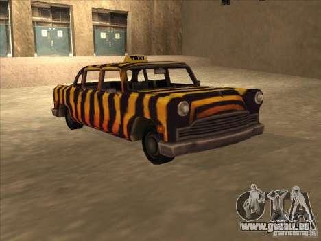 Cabine de zèbre de Vice City pour GTA San Andreas