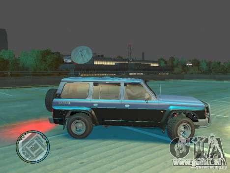 Nissan Safari 1992 für GTA 4 linke Ansicht