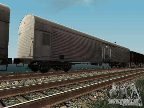 Refrežiratornyj wagon Dessau no 3 pour GTA San Andreas