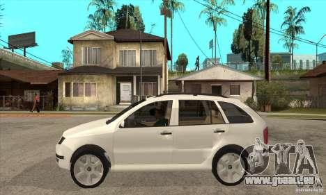 Skoda Fabia Combi pour GTA San Andreas laissé vue
