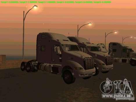 Peterbilt 387 für GTA San Andreas