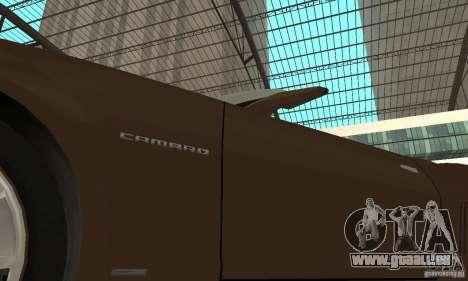 Chevrolet Camaro Concept 2007 für GTA San Andreas Seitenansicht