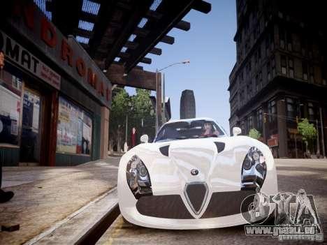 Alfa Romeo TZ3 Stradale Zagato für GTA 4 Seitenansicht