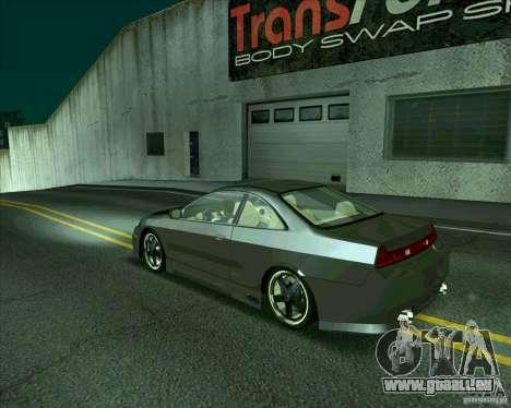 Honda Accord Tuning pour GTA San Andreas vue de droite