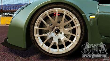 Hennessey Venom GT 2010 [EPM] pour GTA 4 vue de dessus