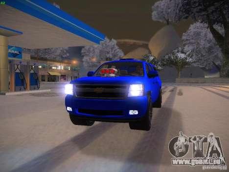 Chevrolet Silverado pour GTA San Andreas vue de côté