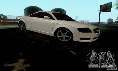 Audi TT pour GTA San Andreas vue de droite