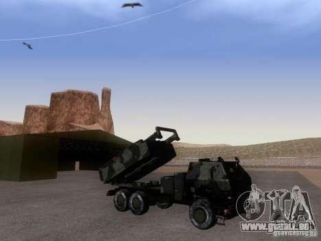 M142 HIMARS Artillery pour GTA San Andreas