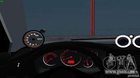 Mitsubishi Lancer Evolution 8 Drift für GTA San Andreas Seitenansicht