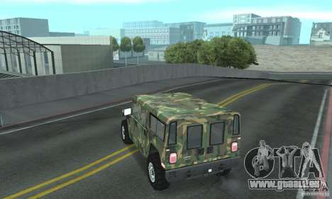 Hummer H1 pour GTA San Andreas roue
