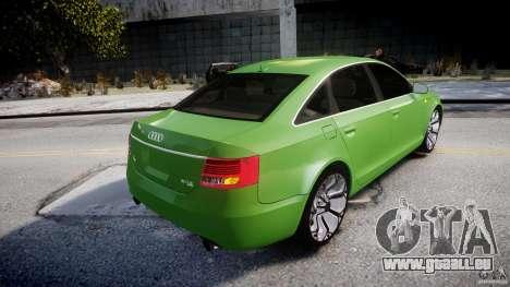 Audi A6 TDI 3.0 pour GTA 4 est une vue de dessous