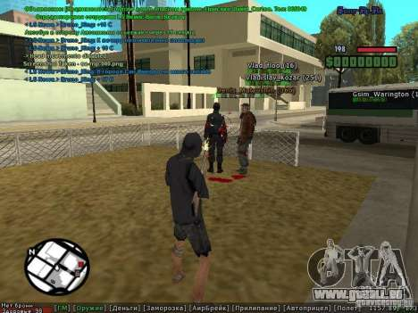 m0d S0beit 4.3.0.0 Full rus für GTA San Andreas her Screenshot