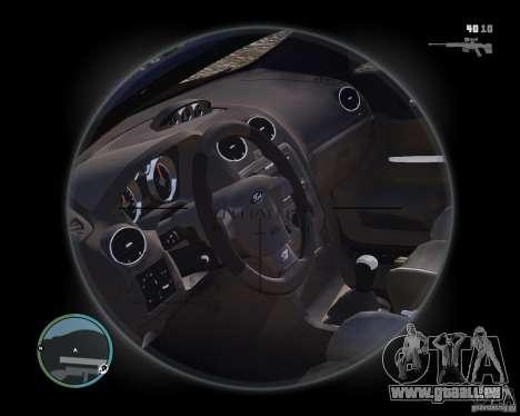 Ford Focus ST 2006 v1.1 pour GTA 4 est un droit