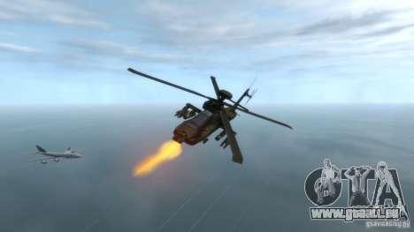 AH-64D Longbow Apache v1.0 pour GTA 4 est un droit