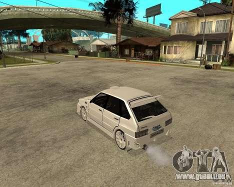 ВАЗ 2114 Mechenny pour GTA San Andreas laissé vue