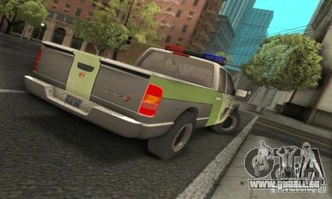 Dodge Ram 1500 POLICE 2008 pour GTA San Andreas