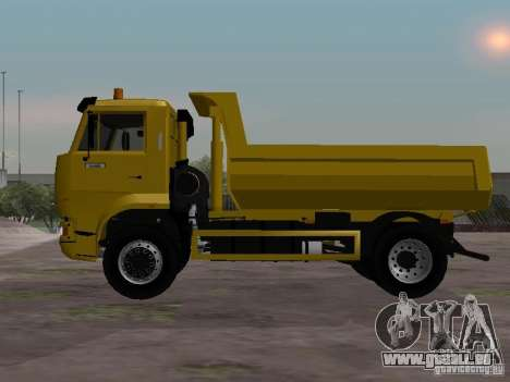 KAMAZ-53605-TAI Version 1.1 für GTA San Andreas linke Ansicht