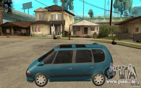 Renault Espace III 1999 pour GTA San Andreas laissé vue