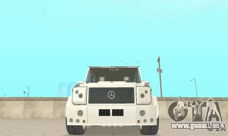 Mercedes-Benz G500 Zailer 2004 für GTA San Andreas Innenansicht