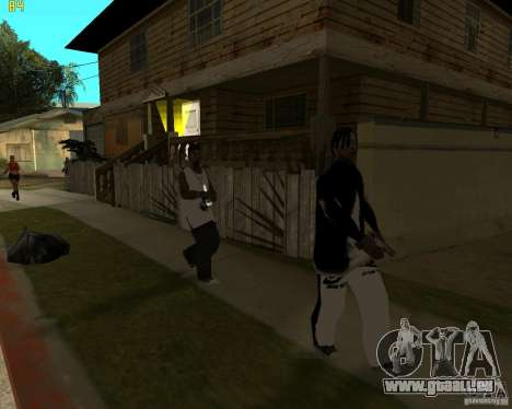 Grove à najke pour GTA San Andreas cinquième écran