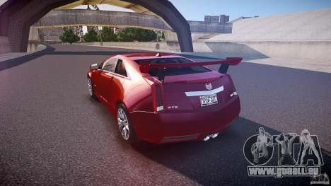 Cadillac CTS-V Coupe für GTA 4 hinten links Ansicht