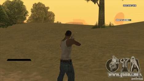 Le point au lieu de la vue pour GTA San Andreas deuxième écran