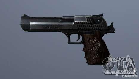 Desert Eagle - Old model für GTA San Andreas dritten Screenshot
