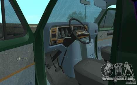 Ford E-150 Short Version v3 für GTA San Andreas Rückansicht
