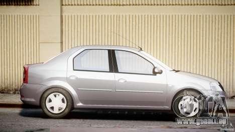 Dacia Logan v1.0 für GTA 4 Seitenansicht