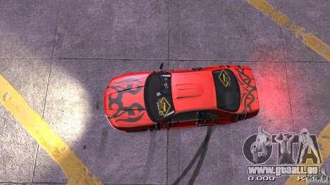 Nissan SkyLine R33 Gt-R S.R für GTA 4 Innenansicht