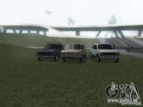 VAZ 2101 für GTA San Andreas Innen