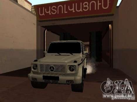 Mercedes-Benz G500 Kromma 1480 pour GTA San Andreas vue intérieure