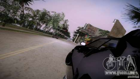 Ford Falcon GT Pursuit Special V8 Interceptor 79 für GTA Vice City Seitenansicht