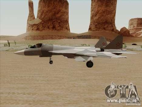 T-50 Pak Fa pour GTA San Andreas laissé vue