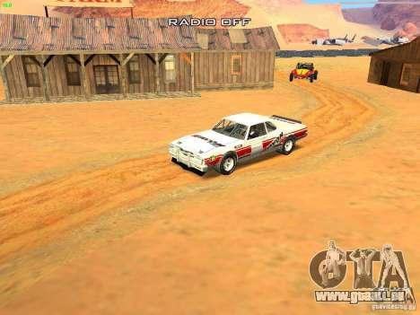 Jupiter Eagleray MK5 für GTA San Andreas Unteransicht
