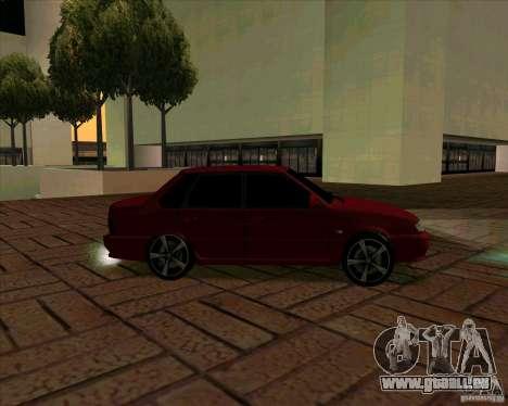 VAZ-2115 pour GTA San Andreas vue de droite