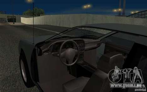 Ford Thunderbird 1993 für GTA San Andreas obere Ansicht